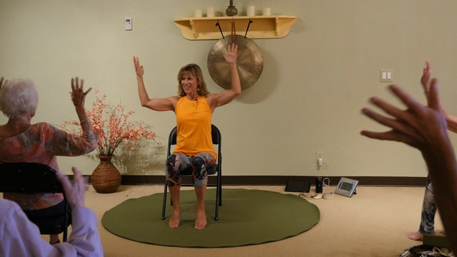 Respect (Just a Little Bit!) - Chair Yoga Dance with Sherry Zak Morris