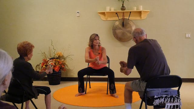 (1 Hr) Halloween Energizing Chair Yog...