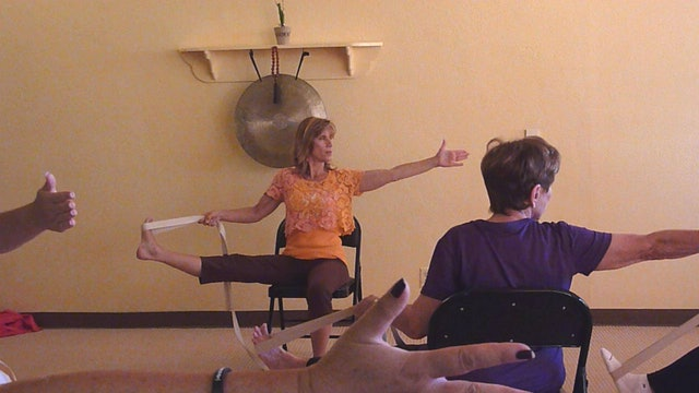 (30 min) First Ever Live Chair Yoga Class with Sherry Zak Morris