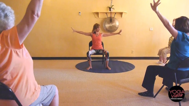 (30-Min) Isometric and Isotonic Exercises for Stronger Muscles - Chair Yoga with Sherry Zak Morris