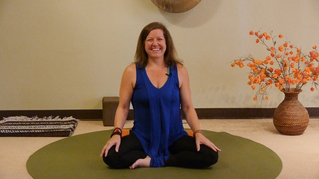 (1 Hr) Slow Down with Gentle Yoga led by Dannette Mason