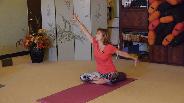 (1 Hr) The Simplicity of a Good Stretch Everywhere with Sherry Zak Morris