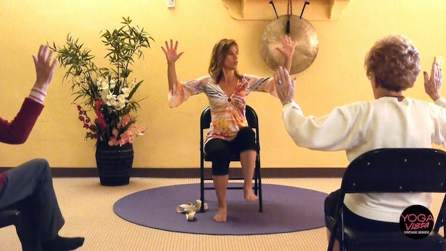 (1 Hr) Welcome to a new Wheelchair Yoga Student! with Sherry Zak Morris