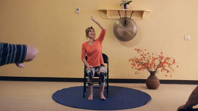 (1 Hr) Advanced Chair Yoga - Taking i...