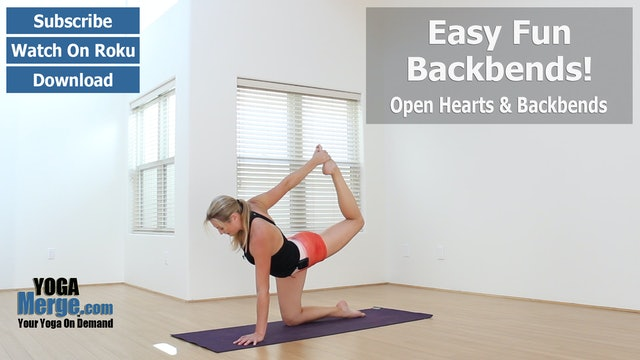 Anna's Easy Fun Backbend