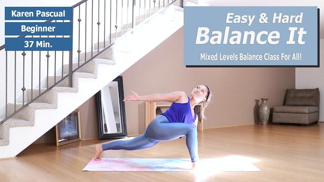 Karen's Easy & Hard Balance