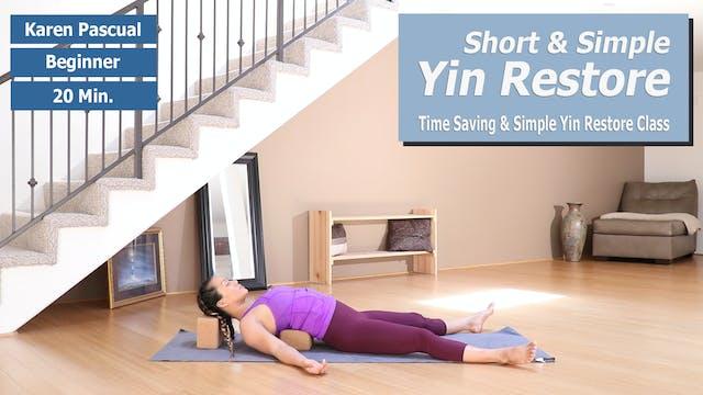 Karen's Short Yin Restore