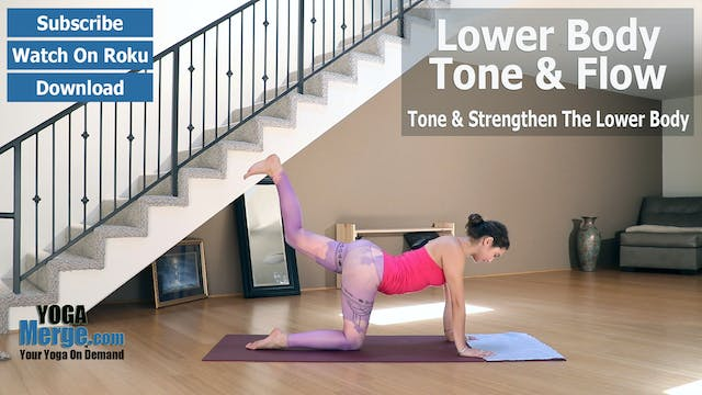 Ariadne's Lower Body Tone & Flow