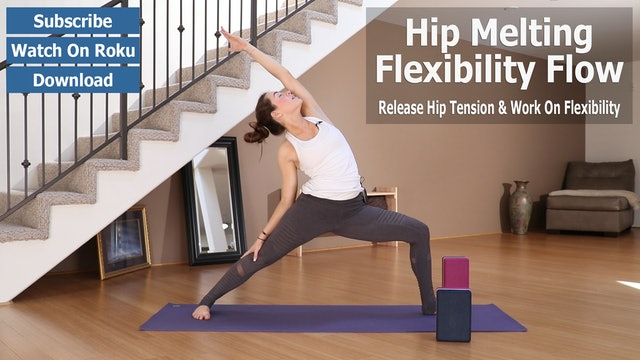 Daniela's Hip Melting Flexibility Flow