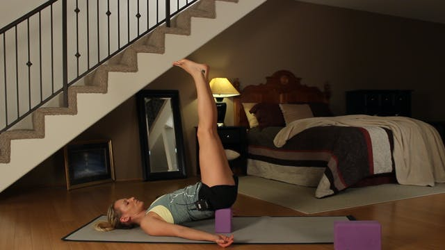 Kim's Bedtime Yoga: Restorative