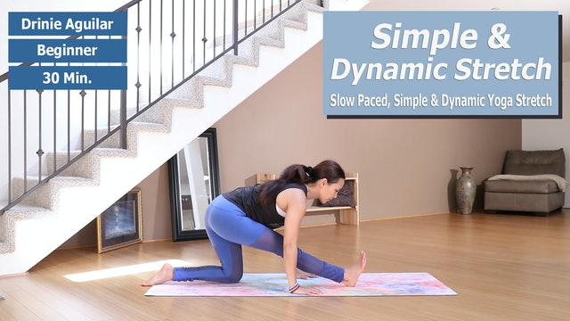 Drinie's Simple Dynamic Stretch