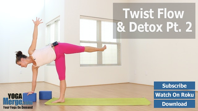 Nikka's Twist, Flow & Detox Part 2