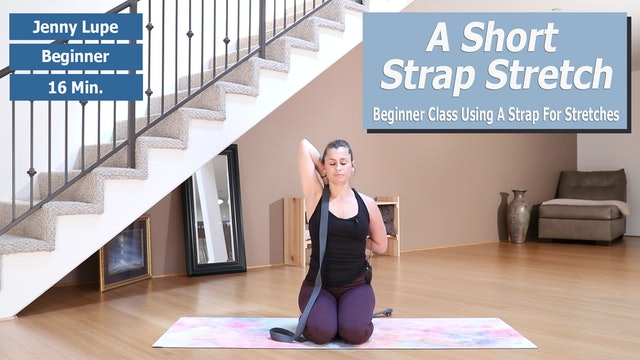 Jenny's Short Strap Stretch Preview