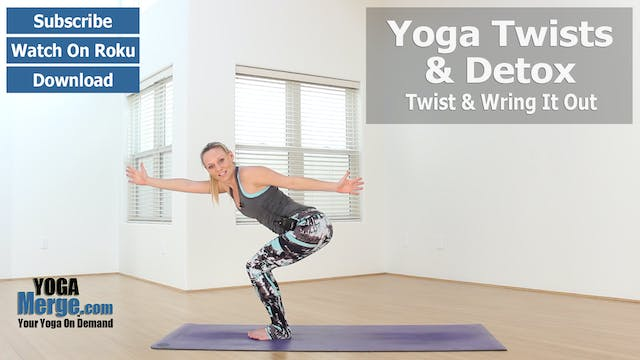 Kim's Yoga Twists & Detox