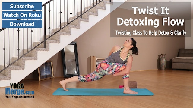 Ariana's Twist It & Detox Flow
