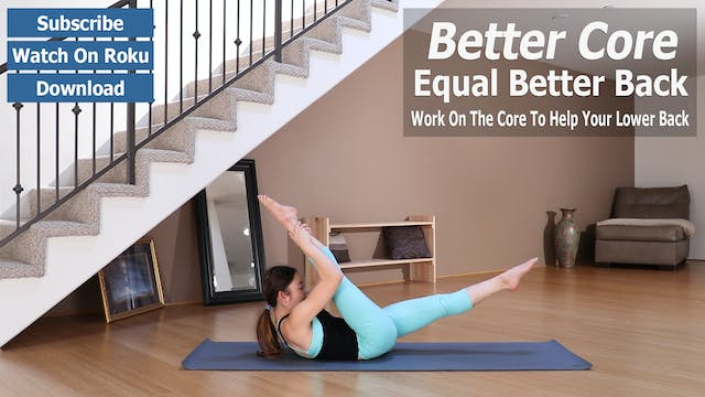 Strong Core Equals A Better Back Preview