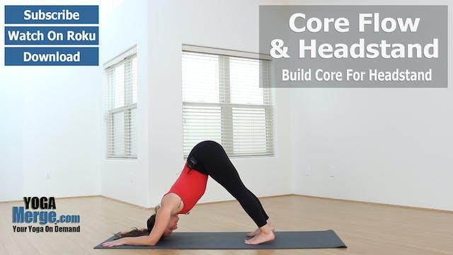 Jen's Core Flow & Headstand