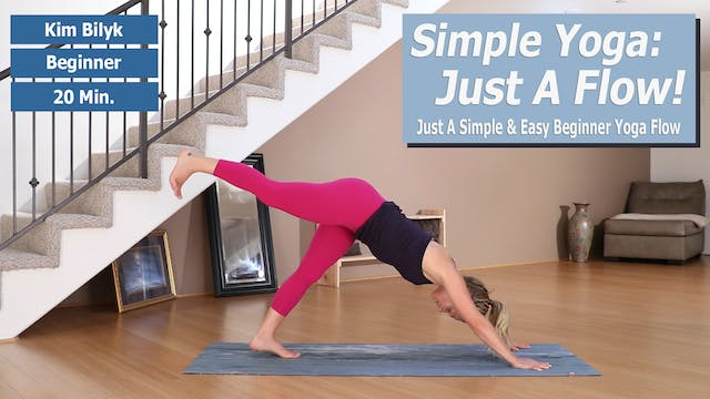 Kim's Simple Yoga: Just A Flow