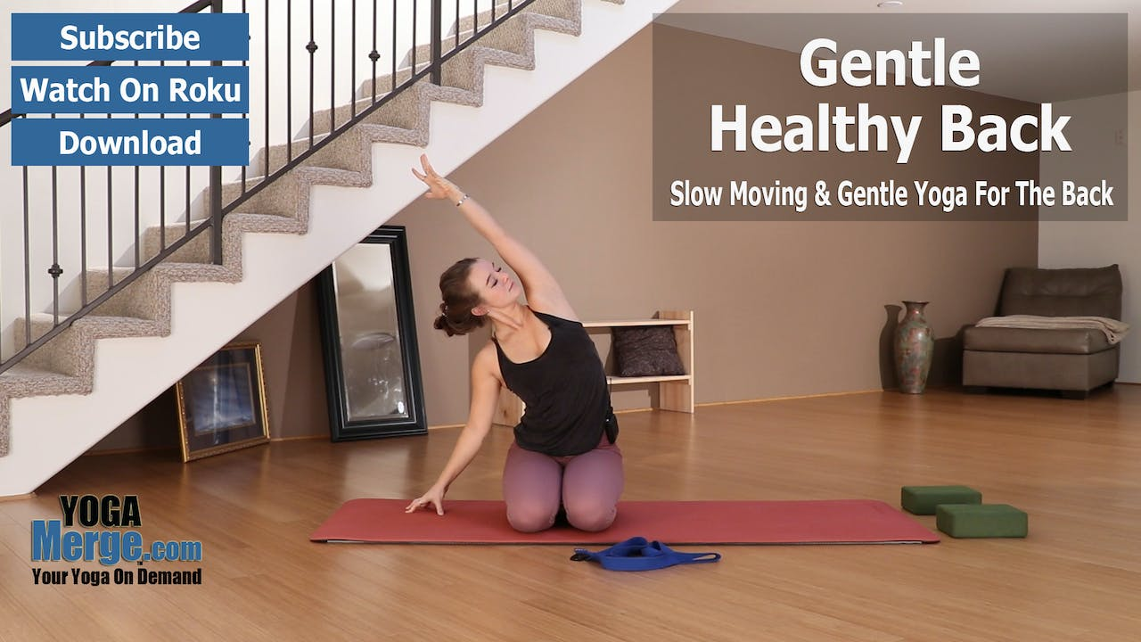 Nikka's Gentle Yoga For A Healthy Back