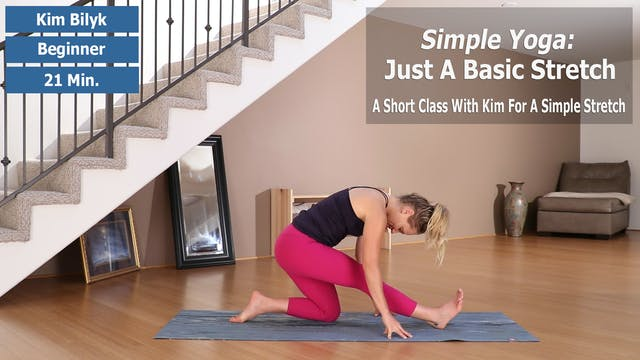 Simple Yoga: Basic Stretch