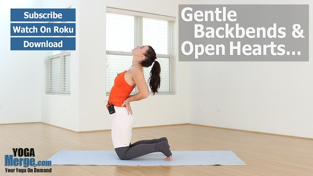 Nikka's Gentle Backbends & Open Hearts