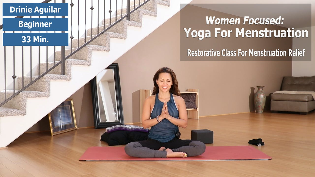 Women Focused: Yoga For Menstruation