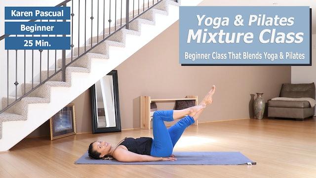 Karen's Yoga & Pilates Mix Preview