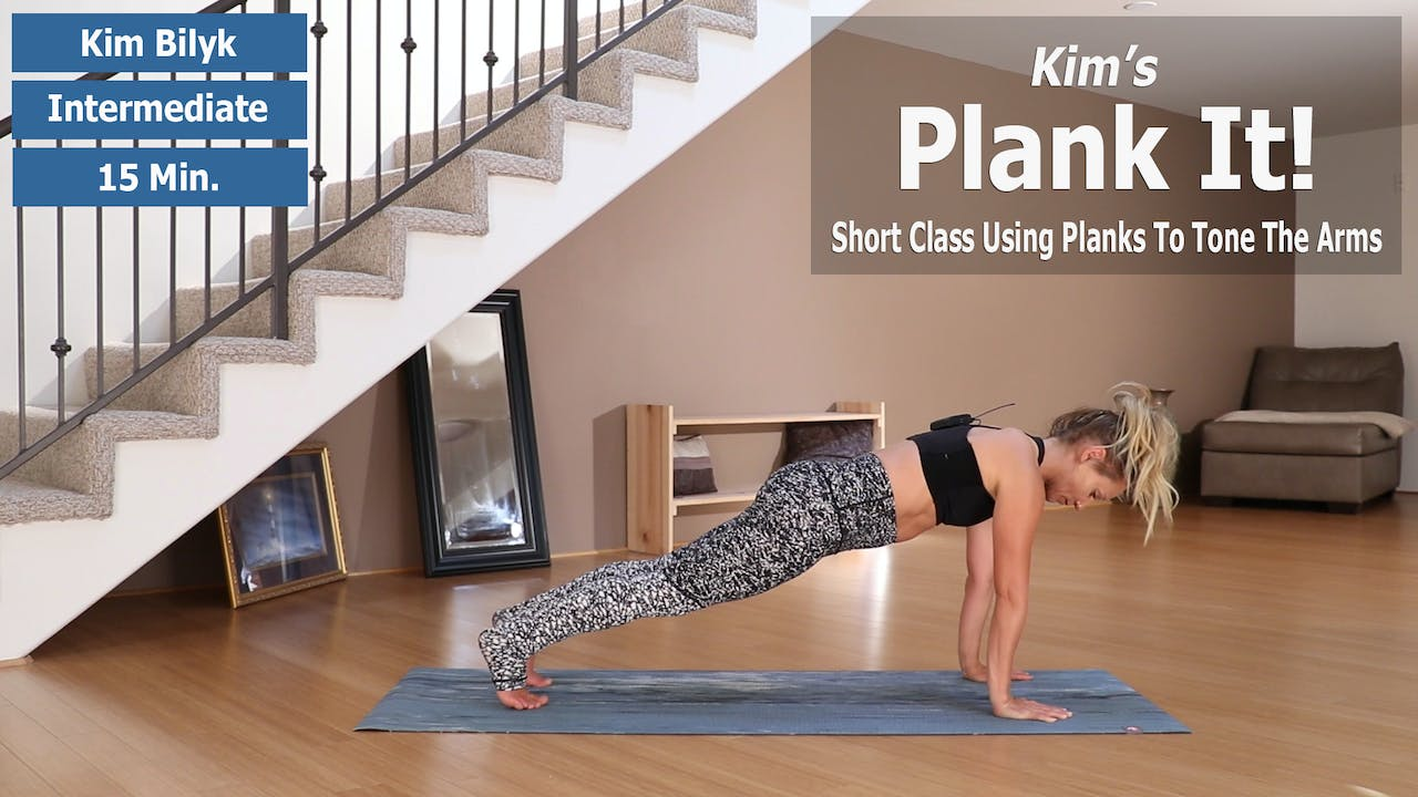 Kim's Plank It For Tone Arms