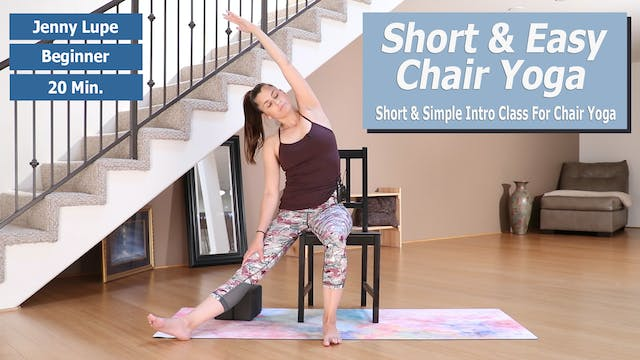 Jenny's Short & Easy Chair Yoga