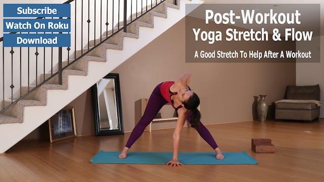 Ariana's Post-Workout Yoga Stretch