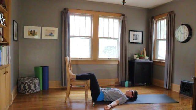 Office Yoga for hips - Eucalyptus Radiate
