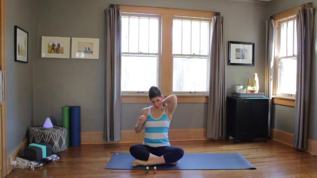 Yoga Flow for Focus - Orange + Peppermint