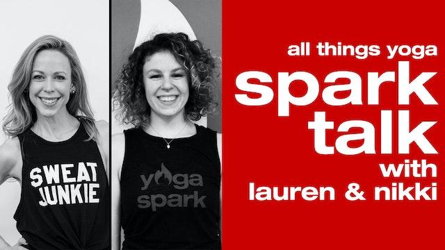 SparkTalk with Nikki and Lauren
