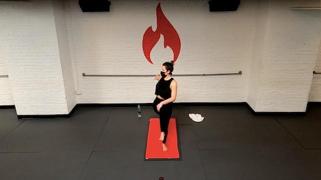 Stephanie Kindness of Twists into Dancer's Pose Flow - Thu 2/4