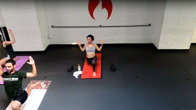 Arianna Deep Breaths in Challenging Poses - Thu 7/15