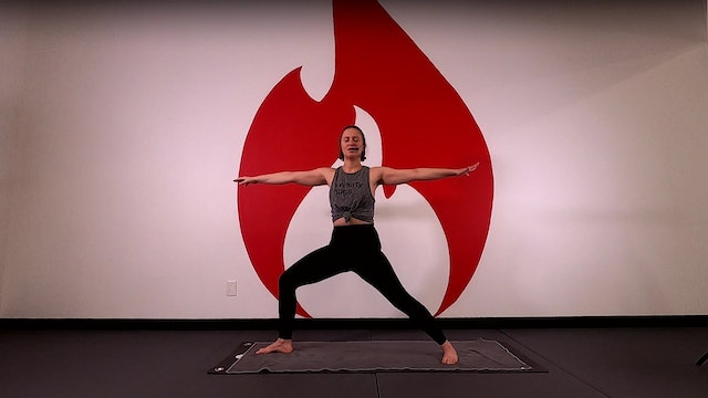 Julia 20 Minute Full Body Power Flow