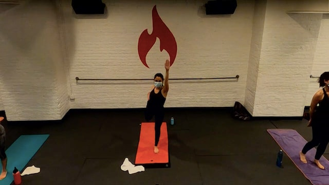 Ariel Standing Bow Pulling Pose Flow - Tues 1/12