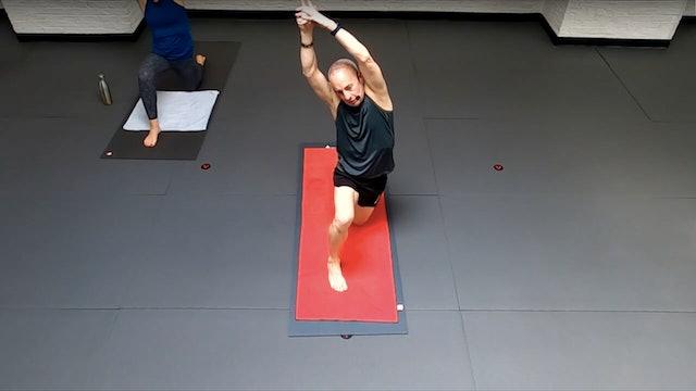 Reed Hip opening, shoulder mobility, & Figure-4 Variations Flow - Wed 6/2