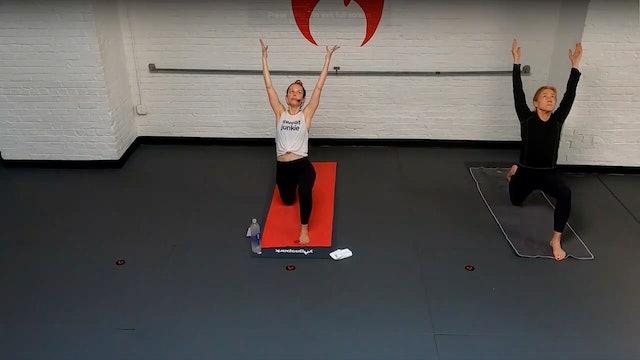 Lauren Gathering & Strengthening to Warrior 3 - Fri 7/16