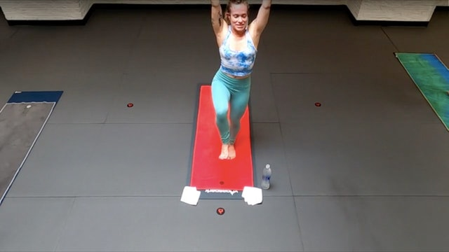 Hannah Non-Judgement Revolved Dancer's Pose Flow - Sat 5/22