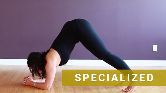 How to do a Dolphin Plank Step by Step Breakdown Yoga Tutorial