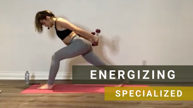 LIVE Barre Yoga with Victoria