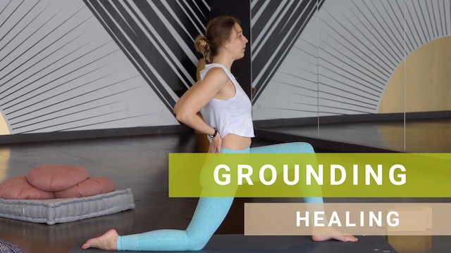 60 mins Healthy Spine + Open Hips with Darya