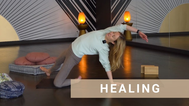 Gentle Yoga for Self Care and Relaxation with Chloe