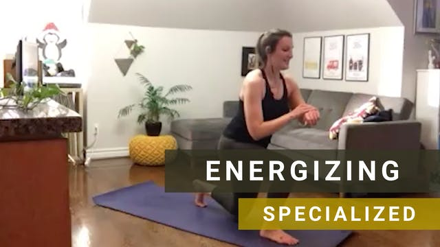 LIVE HIIT Yoga with Heather L.