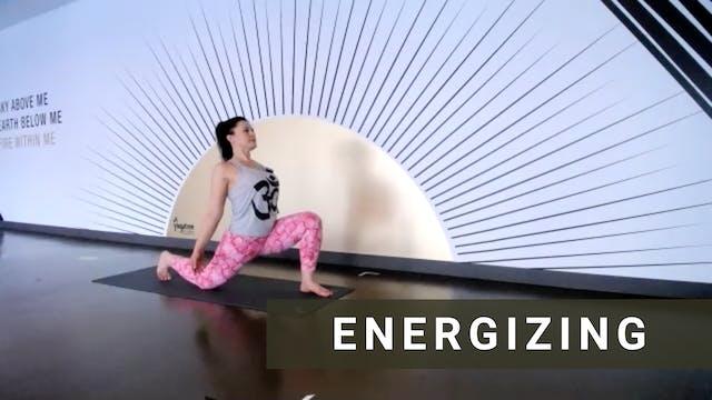 Live Energizing Vinyasa with Jenny