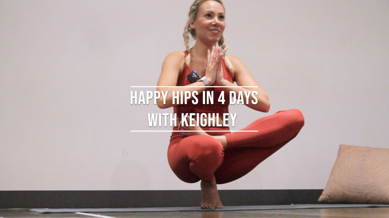4 Days Happy Hips with Keighley