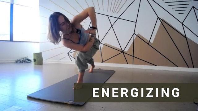 LIVE Energizing Vinyasa with Jules