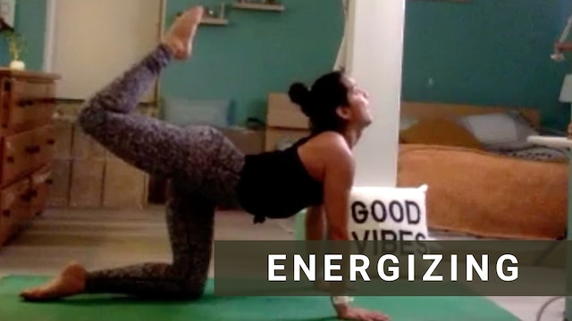 LIVE Power Vinyasa Flow with Andrea