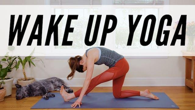 11 Minute Wake Up Yoga